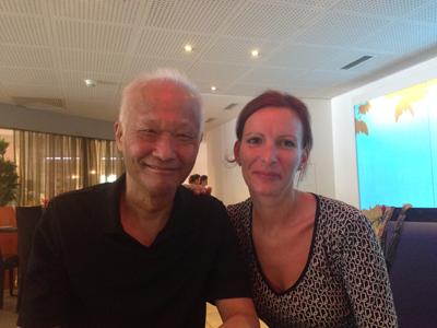 Dr Tan und Sandra Wilfert